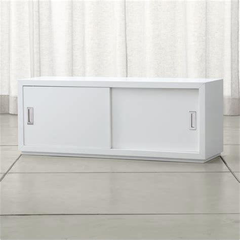 "Aspect 47.5"" Modular Sliding Door Storage Unit   Reviews"