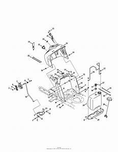 Mtd 13ad78xs099  247 203733   T1400   2015  Parts Diagram