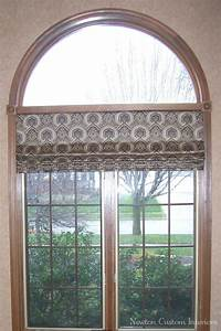 best roman shade in arched window newton custom interiors With best roman shades for large windows