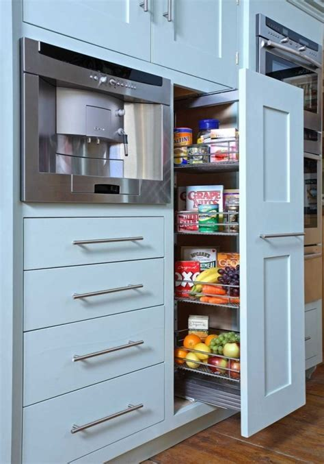 Ikea Pantry Cabinet : Elegant Kitchen Design with Ikea