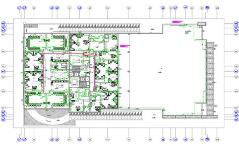 Corporate Office Layout Plan