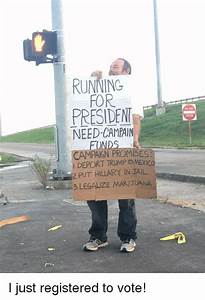 RUNNING FOR PRESIDENI NEED-CAMPAIN FUNDS CAMPAIGN PROMISES ...