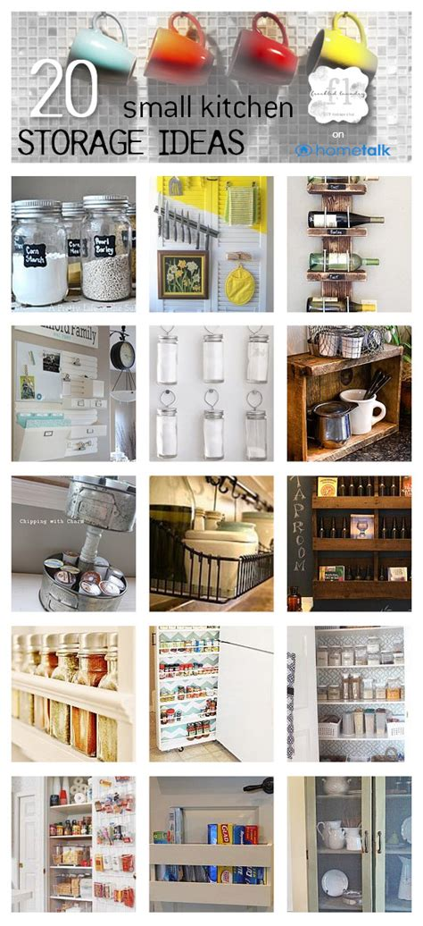 kitchen storage ideas for small spaces 20 small kitchen storage ideas