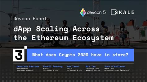 Skale networks's modular protocol is one of the first of its kind to allow developers to easily token issue: What does Crypto 2020 have in store?   SKALE Panel at ...