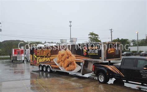 gooseneck concession trailers gooseneck trailers  sale