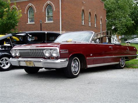 first chevy car my first car 1963 chevy impala convertible maroon