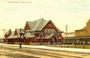 Muncie Union Station - 1905 View of Union Station in ...