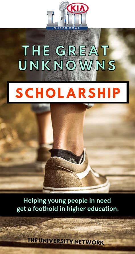 kias  great unknowns scholarship scholarships