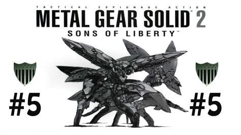 Metal Gear Solid 2 Sons Of Liberty Arrivano I Dead Cell