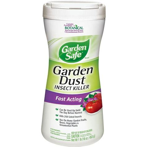 garden safe 1 lb garden dust insect killer hg 93199 the