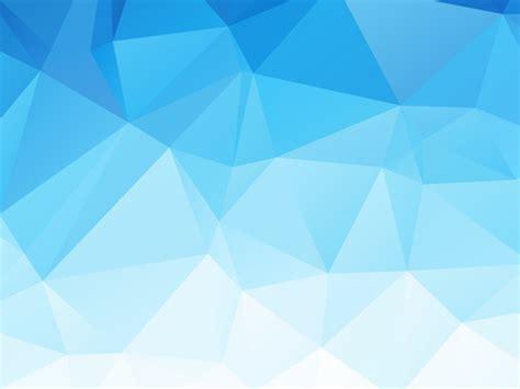 Embossment triangular blue background vector Free vector