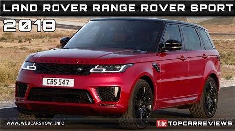 Range Rover Sport 2018 Release Date