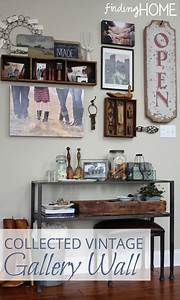 Decorating ideas collected vintage gallery wall finding