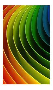Multicolored swirl 3D wallpaper, colorful, rainbows ...