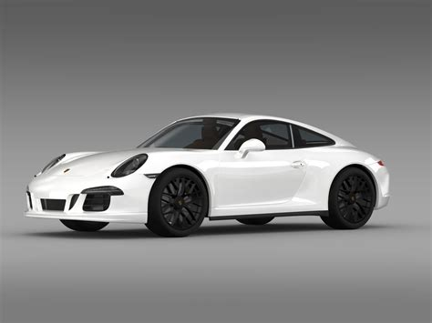Porsche 911 Carrera 4 Gts Coupe 991 2018 3d Model Max