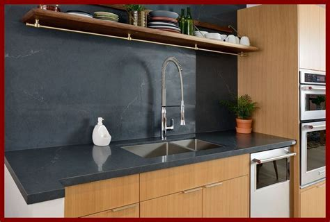 Silestone Eternal Charcoal Soapstone Matches Perfectly in
