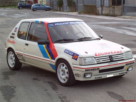 peugeot 205 rally peugeot 205 gti 1 9 group a 1987 racing cars