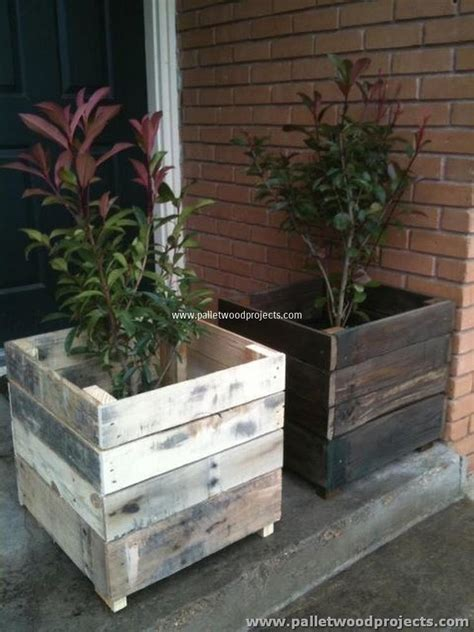 ideas for pallets pallet planter ideas pallet wood projects
