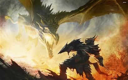 Alduin Dragonborn Skyrim Elder Scrolls Wallpapers Desktop