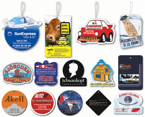 Promotional Paper Car Air Freshener From Kardelen Car Air