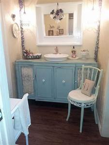 28, Best, Shabby, Chic, Bathroom, Ideas, And, Designs, For, 2017