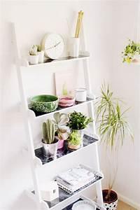 Etagere Echelle Murale : etagere plantes interieur ~ Teatrodelosmanantiales.com Idées de Décoration