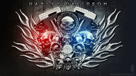 Harley Davidson Wallpaper Hd Ii By Kimoz On Deviantart