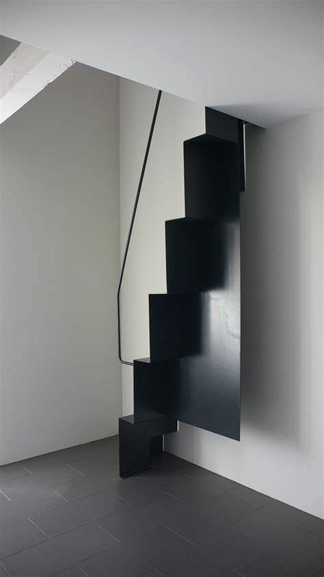 arch home arch and home escalier contemporain escalier 224 pas decales en acier noir