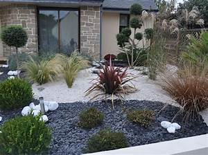 amenagement petit jardin avec terrasse et piscine With amazing amenager un jardin paysager 12 amenagement de jardin terra flore
