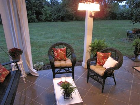 staining your concrete patio to look like tile hometalk