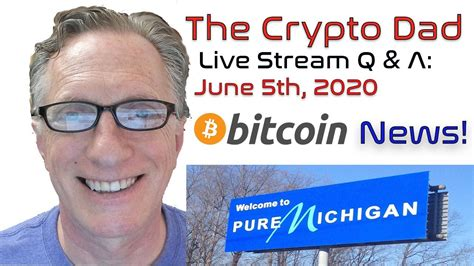 Today we will do technical analysis on bitcoin! CryptoDad's Live Q. & A. June 5th, 2020 Bitcoin News! - YouTube