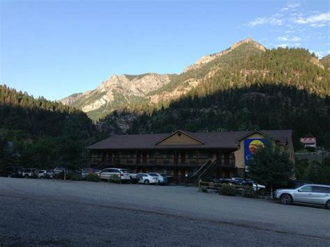 comfort inn ouray alpenglow at sunset picture of comfort inn ouray