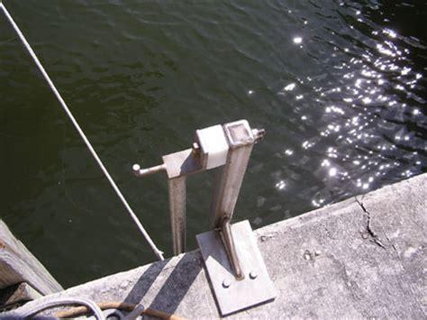 tideslide mooring products pile extension bracket