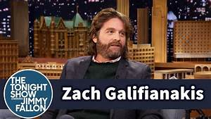 Zach Galifianakis Discovers His Sons Testicles Fit In His ...