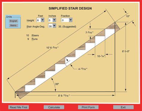 deck stringer calculator metric staircase measurements images rental
