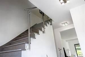 Rampe Escalier inox et Rambarde d'Escalier sur Mesure InoxDesign