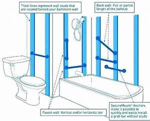 How To Install Grab Bars In Bathroom