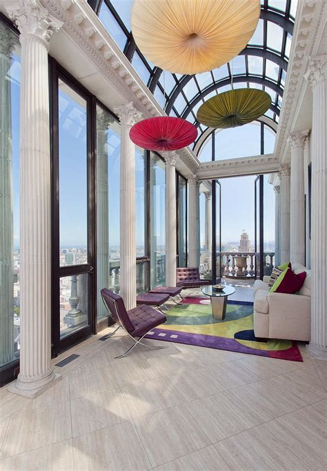 exquisite penthouse atop  art deco hamilton building