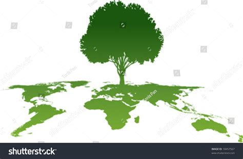 Map Clipart Green World Pencil And In Color Map Clipart