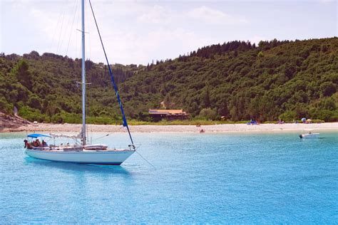 sailing destinations in the ionian discover greece