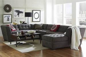 Short on space a sectional sofa in 3 5 or 6 pc for Sectional sofa configurations