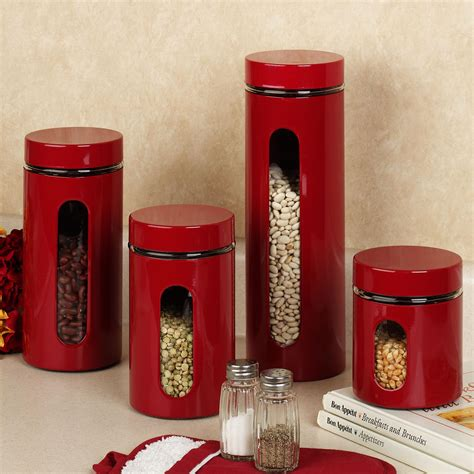 kitchen canister sets stainless steel kitchen accessories ideas on small home decoration