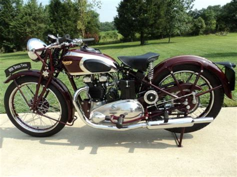 1938 speed 5t triumph motorcycle