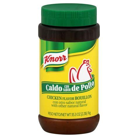 chicken stock substitute knorr bouillon powder chicken