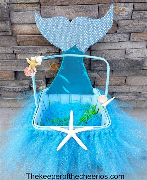 mermaid easter basket  keeper   cheerios