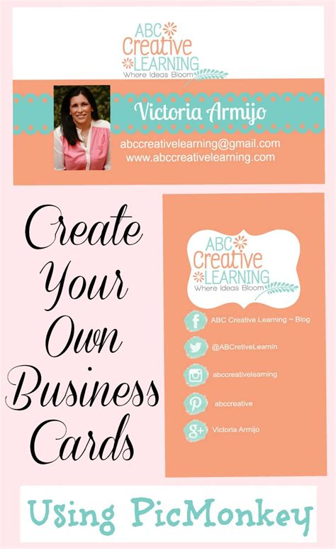 design your own business cards create your own business cards