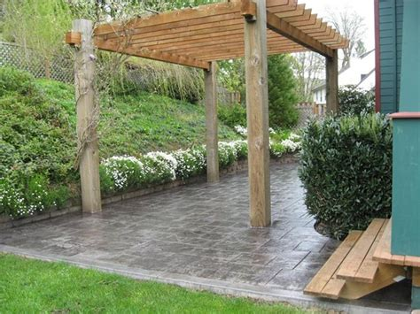 photo gallery concrete patios portland or the