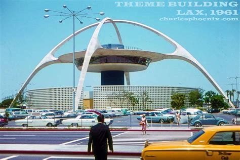 Lax Observation Deck Open by Theme Building Lax 1964