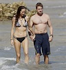 Newly single Gerard Butler flirts with mystery brunette in ...
