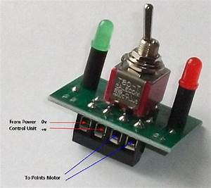 Points Motor Switch With Indicators